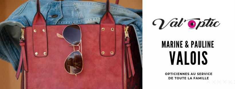 Accueil de la nouvelle collection de lunette val'optic à Limoux, sac à main et lunette de soleil...